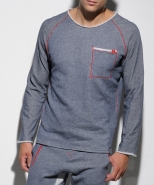 SP107 Casual Sport Sweater Navy