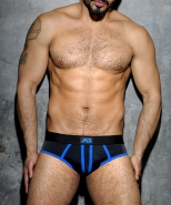 ADF11 Stripe Fetish Brief Royal Blue