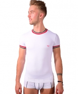 Trendy Training T-Shirt White