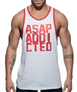 AD663 ASAP Tank Top White
