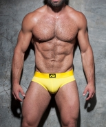 ADF92 Bottomless Fetish Brief Yellow