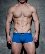 ADF93 Bottomless Fetish Boxer Royal Blue