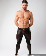 Maskulo Armored Leggings Codpiece + Rear...