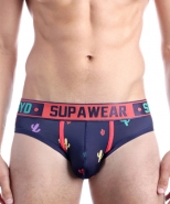 Supawear SPRINT Cacti Brief Bristly Blac...