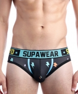 Supawear SPRINT Thunda Brief Black Thund...