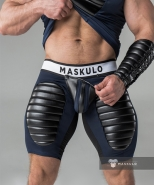 Maskulo Fetish Shorts Codpiece + Thigh P...