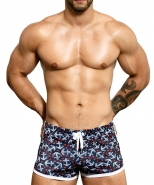 Anchor Mesh Jogger Shorts