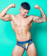 Supawear Sprint Pop Brief Blue