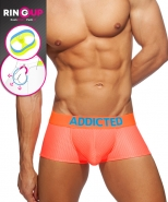 AD952 Ring Up Neon Mesh Trunk Neon Orang...
