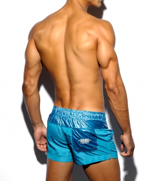 1657 Harry Shiny Short Cobalt