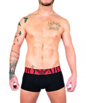Colored Basic Megalogo Boxer Black