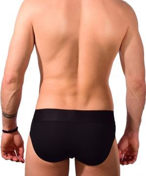 Training Mesh Brief Black