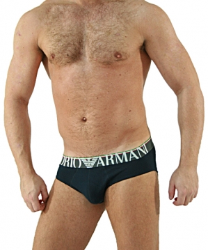 Italy Logoband Brief Navy