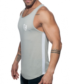 AD775 09 Tank Top Heather Grey