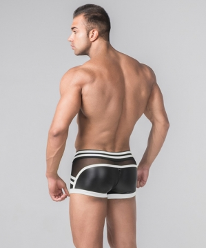 Maskulo Youngero Generation Y Trunk Zippered Rear White