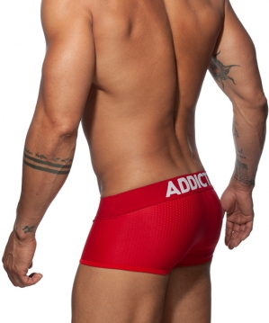 AD806 Push Up Mesh Trunk Red