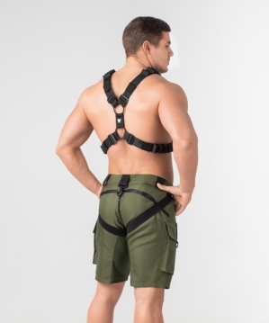 Enforce X-style Harness Black