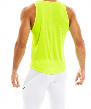 Peace Tanktop Lime